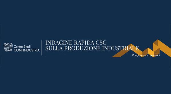 CSC: Indagine rapida sulla produzione industriale - Ottobre 2021