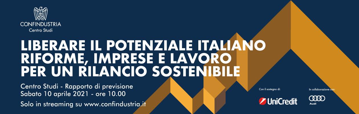 Rapporto di previsione del Centro Studi Confindustria - Aprile 2021