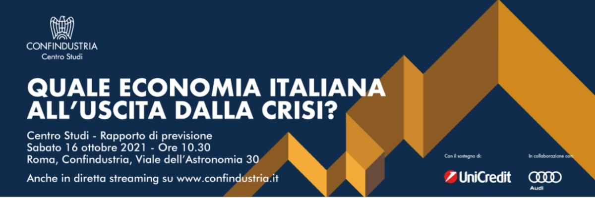 CSC: Rapporto di previsione sull'economia italiana